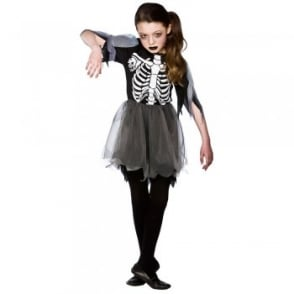 Skeleton Ballerina - Kids Costume