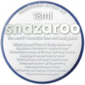 White Face And Body Paint (Snazaroo™) - Accessory