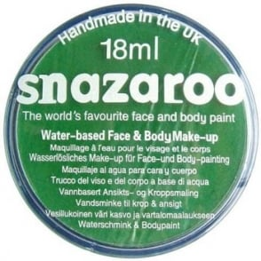 Green Face and Body Paint (Snazaroo™) - Accessory