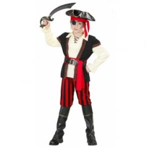 Deluxe Pirate - Kids Costume
