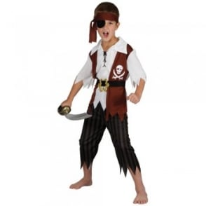 Cutthroat Pirate - Kids Costume