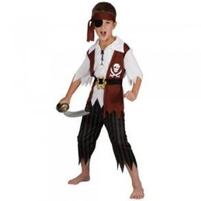 Cutthroat Pirate - Kids Costume