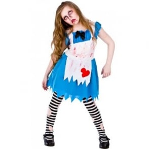 Alice In Zombieland - Kids Costume