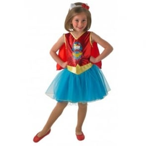 ~ DC Hello Kitty Wonder Woman - Kids Costume