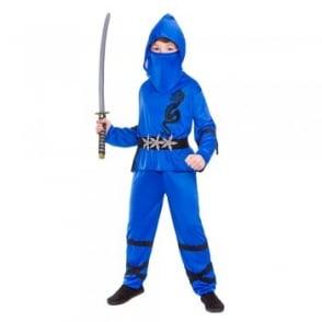 Blue Power Ninja - Kids Costume