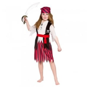 Shipwreck Pirate Girl - Kids Costume