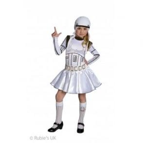 ~ Stormtrooper (Girl) - Kids Costume