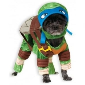 Leonardo TMNT Dog Costume - Pet Accessory