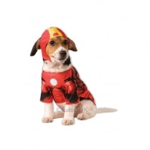 Iron Man Dog Costume - Pet Accessory