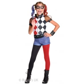 ~ Harley Quinn Deluxe (DC Comics Superhero) - Kids Costume