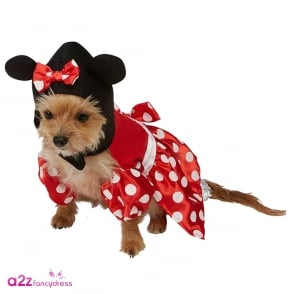 Minnie Mouse Dog Costume - Pet Accessory