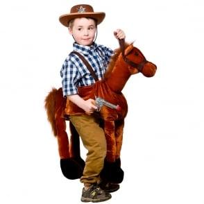 Ride On Horse - Kids Costume