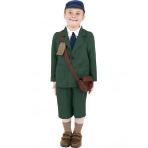 WW2 Evacuee Boy - Kids Costume