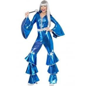 1970's Dancing Dream (Blue) - Adult Costume