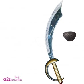 Eyepatch and Pirate Sword - Accessory