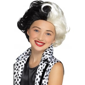 Evil Madame Wig - Kids Accessory
