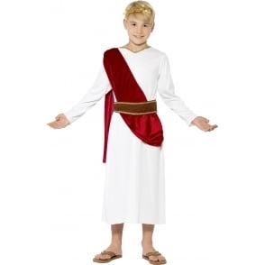 Roman Boy with Red Sash - Kids Costume