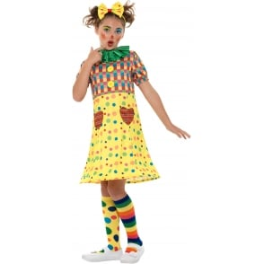 Girls Clown - Kids Costume