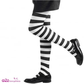Tights (Black & White) - Kids Accessory