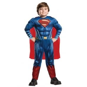 Superman Deluxe *2018 JUSTICE LEAGUE* - Kids Costume