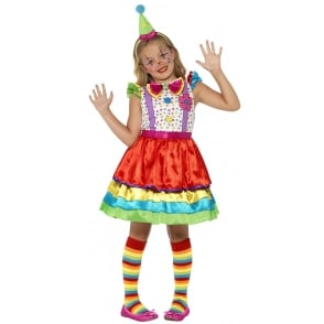Deluxe Clown Girl - Kids Costume