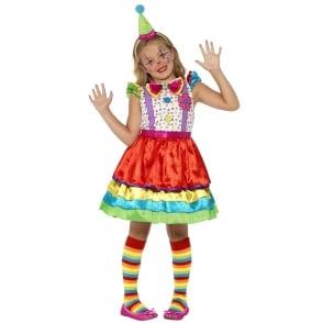 Deluxe Clown Girl - Kids Costume