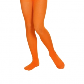 Orange Tights - Kids Accessory