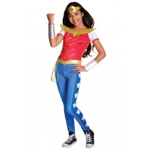 ~ Wonder Woman Deluxe (DC Comics Superhero) - Kids Costume