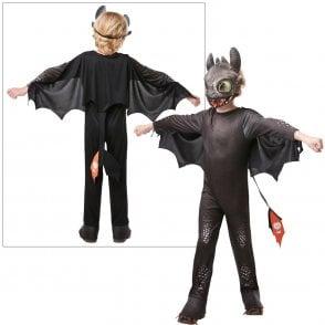 ~ Hidden World ~ Toothless - Kids Costume