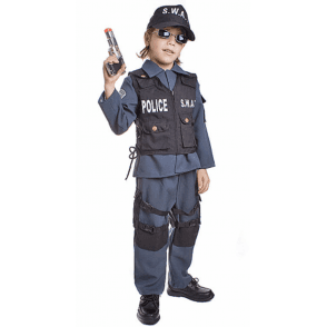 S.W.A.T. Police - Kids Costume