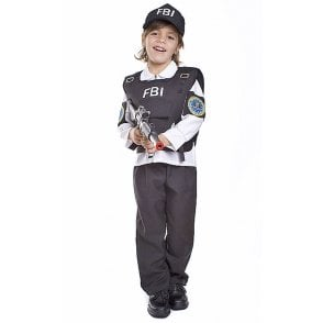 FBI Agent - Kids Costume