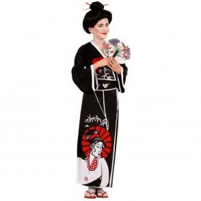 Japanese Geisha - Kids Costume
