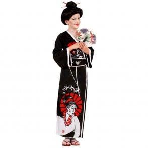 Japanese Geisha - Kids Costume