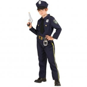 Policeman - Kids Costume