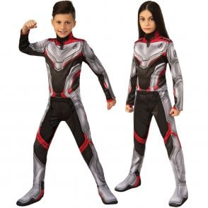 ~ Team Suit -  2019 AVENGERS ENDGAME - Kids Costume