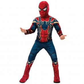 ~ Iron Spider Deluxe -2019 AVENGERS - Kids Costume