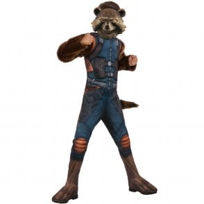 ~ Rocket Raccoon Deluxe - AVENGERS ENDGAME - Kids Costume