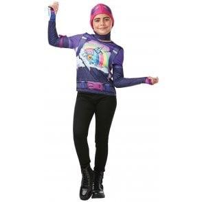 Brite Bomber Top & Snood - Fortnite - Tween Costume