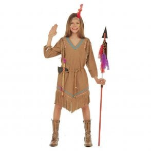 Cheyenne Indian Girl - Kids Costume