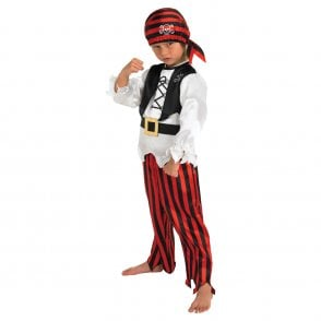 Raggy Pirate Boy - Kids Costume