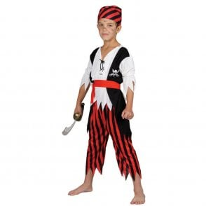Shipwreck Pirate - Kids Costume