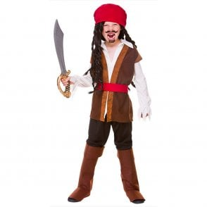 Caribbean Pirate - Kids Costume