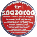 Red Face and Body Paint (Snazaroo™) - Accessory