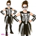 GIRLS Skelebones - Kids Costume