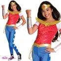 WONDER WOMAN ~ Wonder Woman Deluxe (DC Comics Superhero) - Kids Costume
