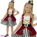 Deluxe Pirate Girl - Kids Costume
