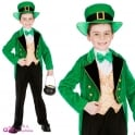 Deluxe Leprechaun Boy - Kids Costume