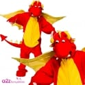 Fire Breathing Dragon - Kids Costume