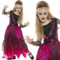 Deluxe Gothic Prom Queen - Kids Costume