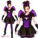 Batty Ballerina - Kids Costume Set (Costume, Tights)
